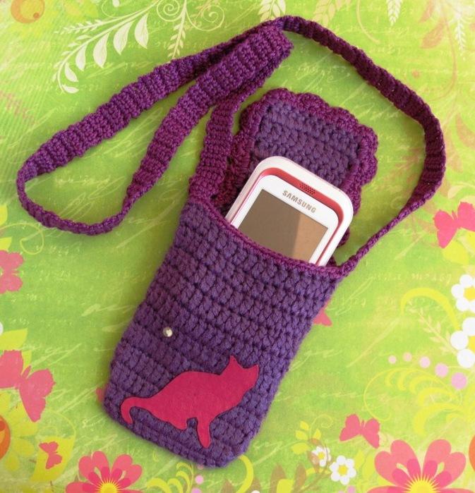 Чехол для телефона из носка