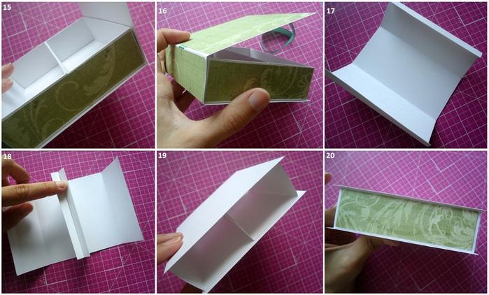 Делаем шкатулку своими руками из картона