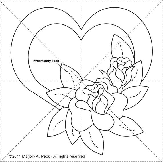 Rose 8 inch (572x571, 65Kb)