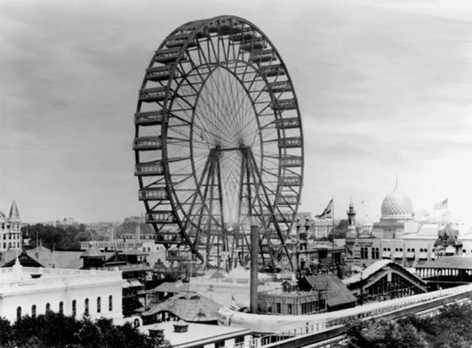 Первое в мире колесо обозрения