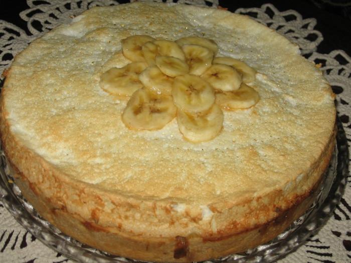 Банановый торт в домашних условиях фото