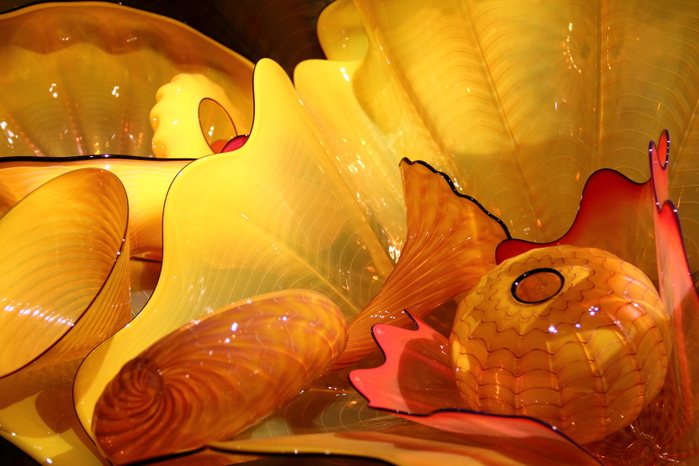 стеклянные скульптуры Дейл Чихули 19 (700x466, 166Kb)