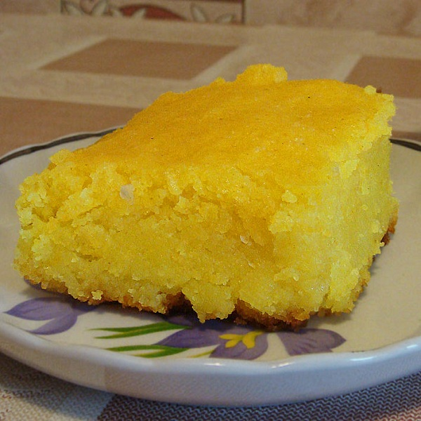 Лимонный манник на кефире рецепт с фото