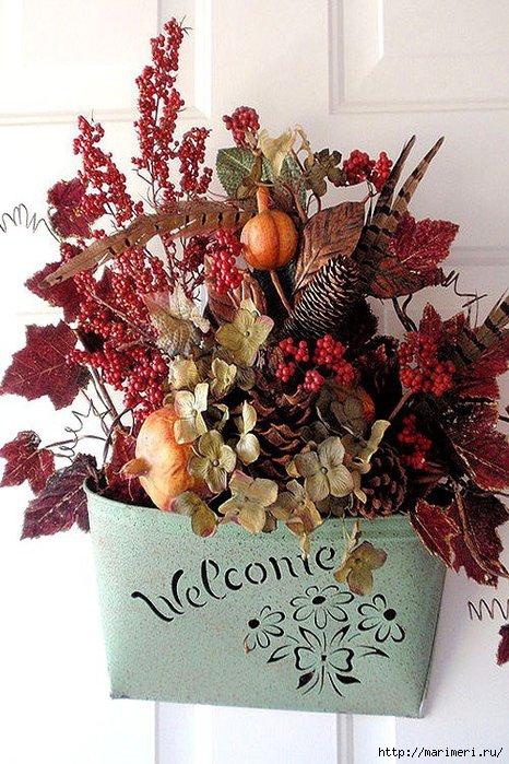Осенний декор