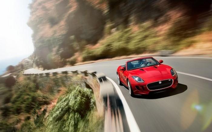 Красивый родстер Jaguar F-Type образца 2012 года 1 (700x435, 66Kb)