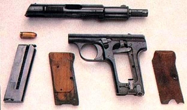 пистолет Астра 300 – полная