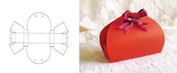 Схемы для создания коробочек