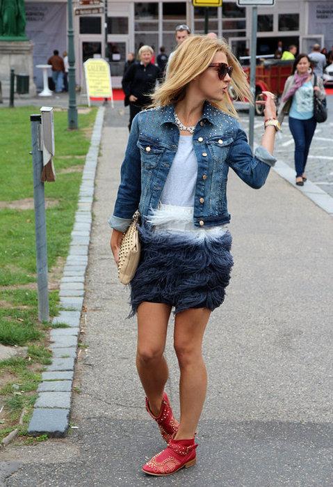 стильные и модные юбки 2013