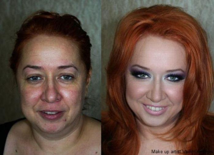 Не бывает некрасивых женщин, бывает непраильно подобранный макияж