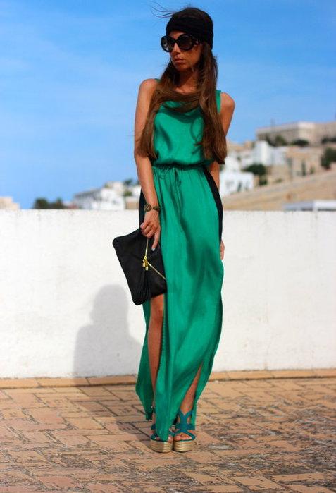 Вечернее платье с чем носить