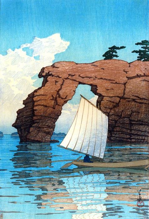 Zaimoku Island, Matsushima, 1933 (475x700, 149Kb)