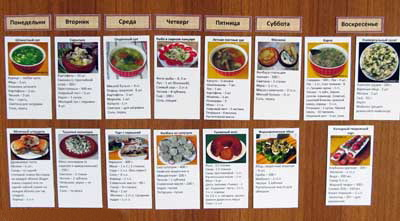 программа для составления меню на неделю - фото 10