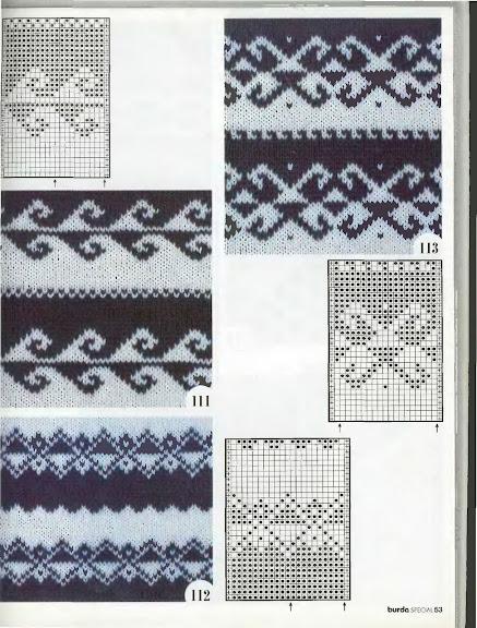 Вязание на спицах жаккардовый рисунок