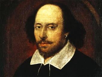 Уильям Шекспир (фрагмент так называемого портрета Чандоса (340x255, 16Kb)