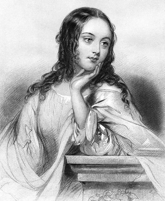 Джульетта. Иллюстрация. Philip H. Calderon (575x700, 165Kb)