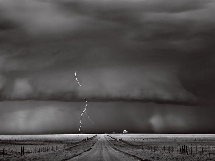Молния в Оклахоме