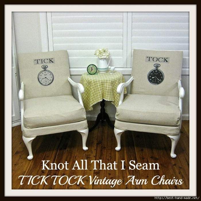 TICK TOCK Vintage Arm Chairs 1 (700x700, 383Kb)