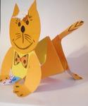 Поделки котенок своими руками из бумаги