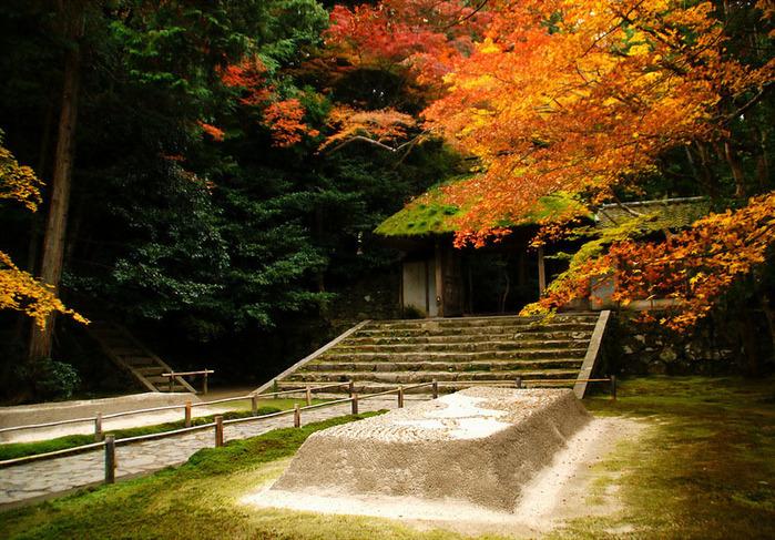 красивые фото осени киото япония 4 (700x487, 209Kb)