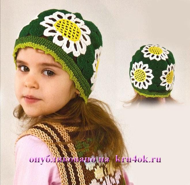 Модные вязаные шапочки для