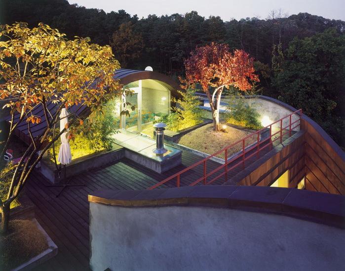 креативный архитектурный проект дома 1 (700x548, 161Kb)