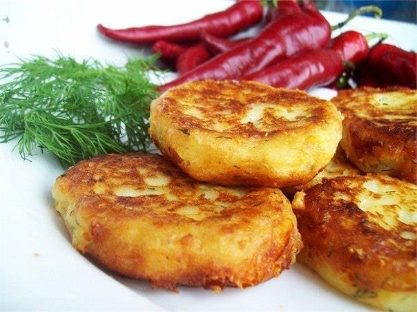 Котлеты картофельные с сыром и укропом (604x453, 50Kb)