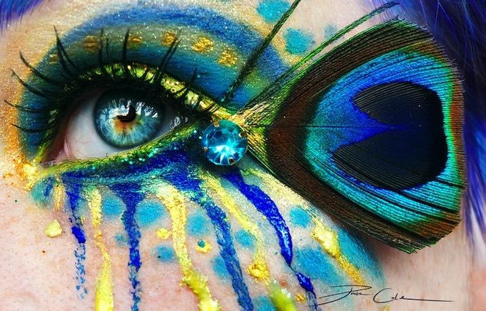 креатинвный макияж Svenja Schmitt 2 (700x448, 156Kb)