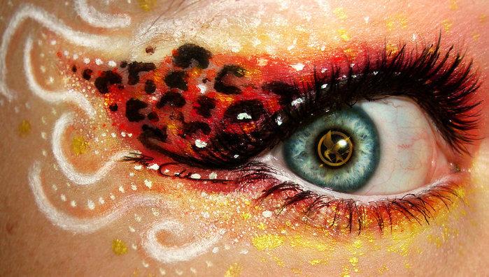 креатинвный макияж Svenja Schmitt 11 (700x397, 114Kb)