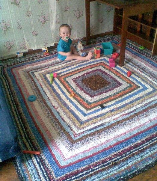 Домашние коврики своими руками фото