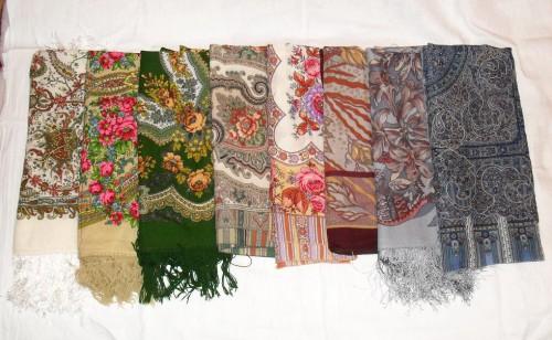 Юбки и блузки из платков 28