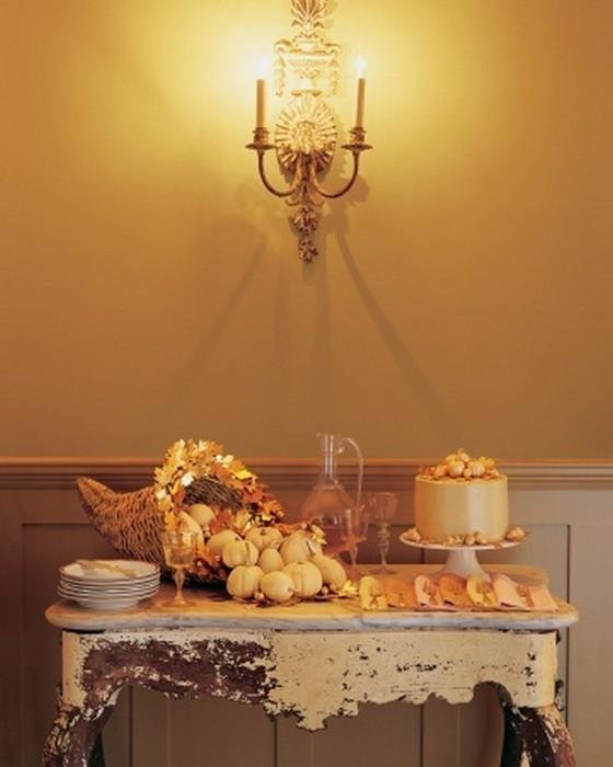 Осеннее декорирование интерьера от Марты Стюарт 34 (560x700, 62Kb)