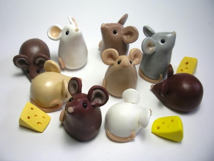 Как сделать животных из глины своими рукам