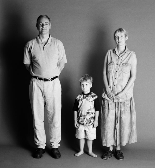 семейные фотографии Zed Nelson 4 (646x700, 251Kb)