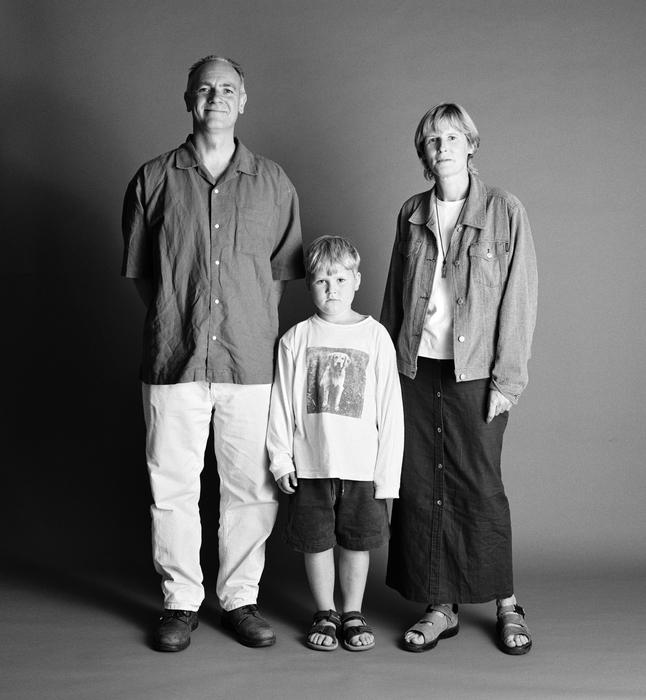 семейные фотографии Zed Nelson 6 (646x700, 239Kb)