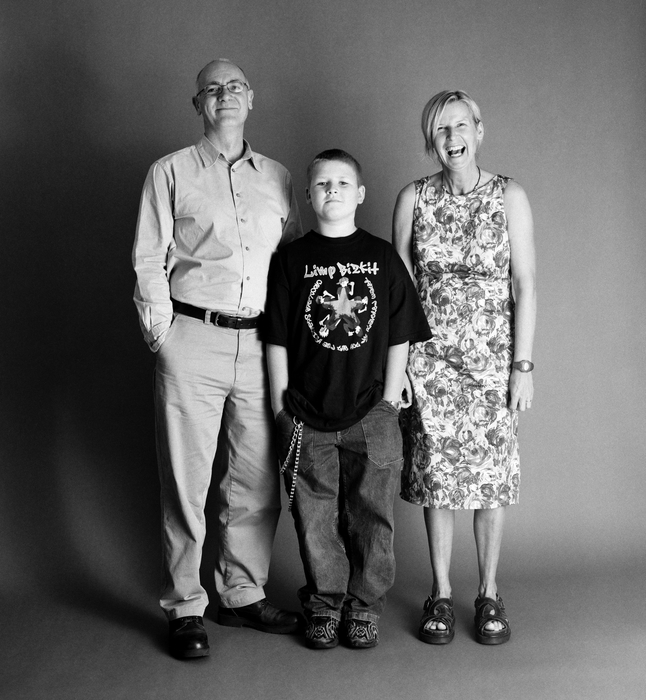 семейные фотографии Zed Nelson 10 (646x700, 260Kb)