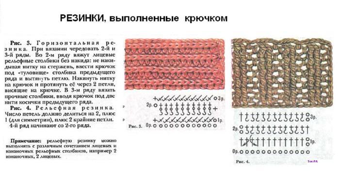 Крючок для вязания резинками