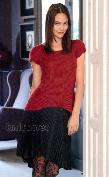 pulover-s-korotkimi-rukavami-vanessa (352x570, 116Kb)