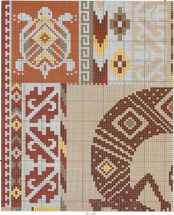 Этнический узор для вышивки 456