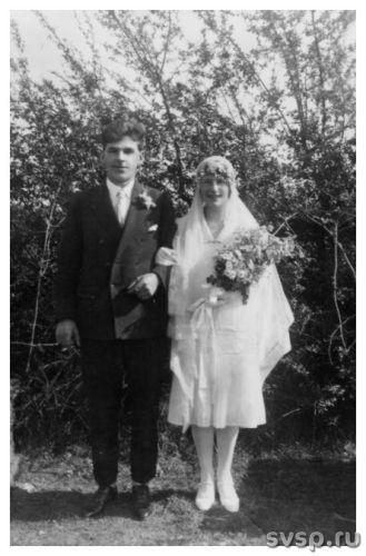 Свадебные фотографии начала двадцатого века, когда идеалом красоты считалас
