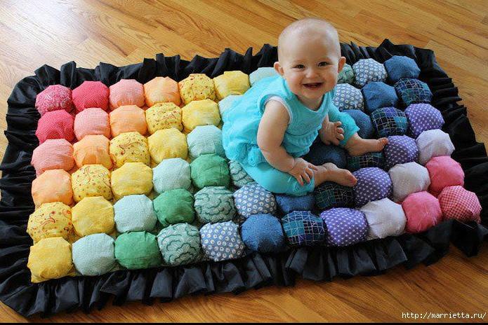 """Как сшить детский коврик своими руками + Фото """" Дизайн & Декор своими руками"""