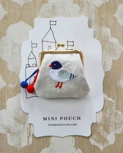 Чудесная вышивка гладью от Юмико Хигучи.