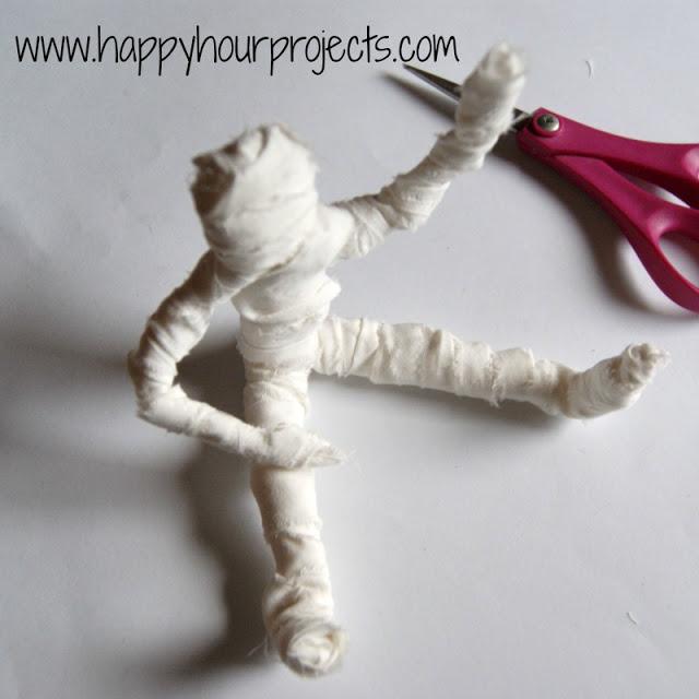 Как сделать мумию своими руками фото