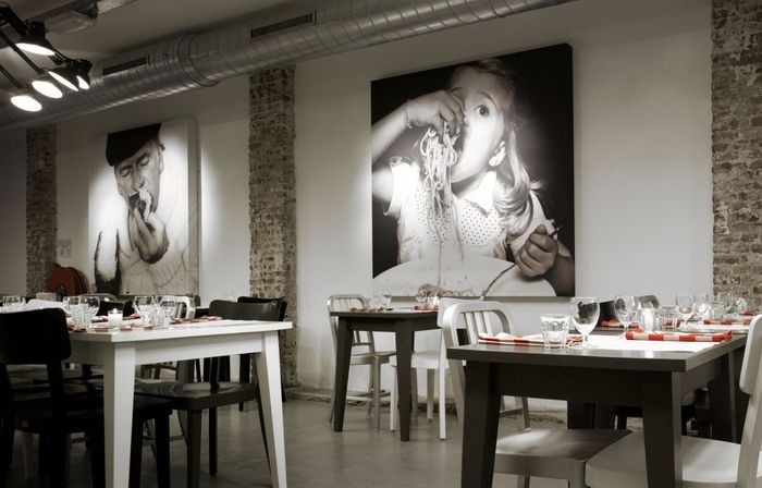 Интерьер итальянского ресторана Mazzo 3 (700x448, 57Kb)