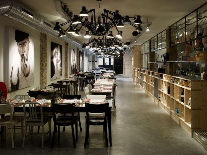 Интерьер итальянского ресторана Mazzo 7 (700x525, 87Kb)