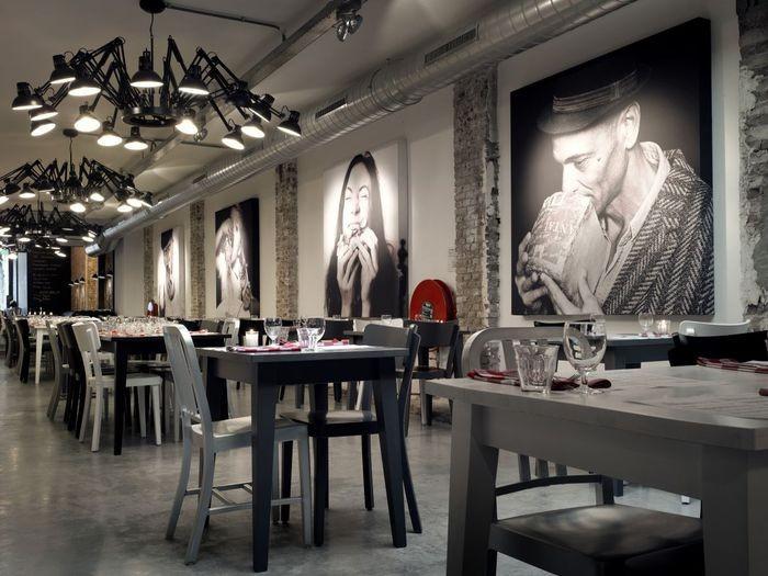 Интерьер итальянского ресторана Mazzo 9 (700x525, 82Kb)