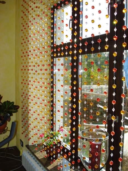 Дизайн штор для зала своими руками фото