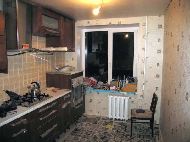 Пример ремонта частной квартиры: результаты ремонта на кухне - Ремонт своими руками - статьи