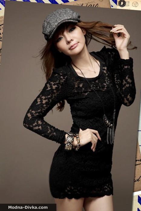 красивые платья с гипюра