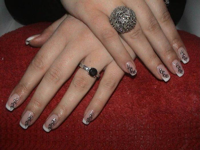 Дизайн фото новогодний дизайн ногтей