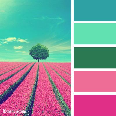 Сочетание цветов на фронтон